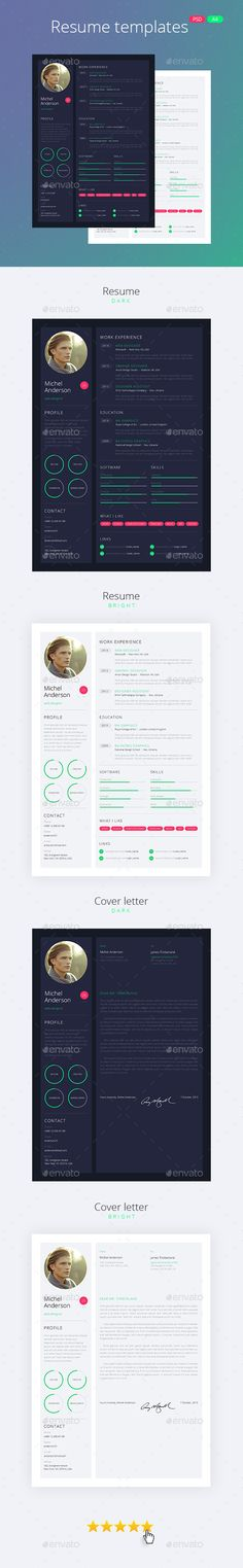 Clean Resume Cv Bundle Download    graphicrivernet item - new style resume templates