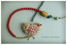 Items similar to Necklace I, Birdie Collection on Etsy Types Of Credit Cards, Daughter Of God, Jewelry Design, Unique Jewelry, Wooden Beads, Jewelry Collection, Glass Beads, Crochet Necklace, Art Pieces