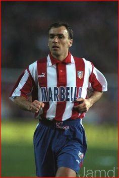 Milinko Pantic, Atlético de Madrid, de sus piernas nacio el futbol que le dio al Atletico de Madrid su ultimo titulo de liga del Siglo XX