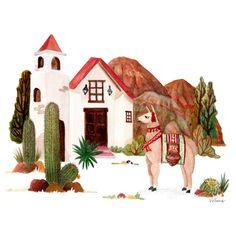 Drawing, Illustration, Painting, Watercolor, Instagram, Peru, Bedroom, Home, Watercolor Paintings