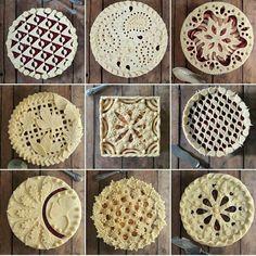 Идеи украшения пирогов. Обсуждение на LiveInternet - Российский Сервис Онлайн-Дневников