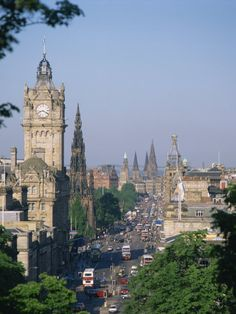 Princes Street, Edinburgh, Scotland
