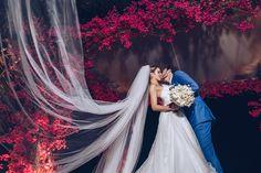 Casamento na praia | Ensaio dos noivos | Noivos | Vestido | Grinalda