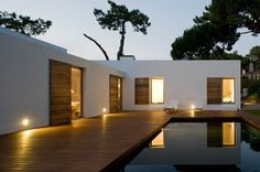 So tranquil. (Casa Banzão II by Frederico Valsassina Arquitectos) Design Exterior, Interior And Exterior, Interior Office, Portugal, Mediterranean Style, My Dream Home, Interior Architecture, My House, Future House