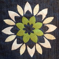 Modern Thailand Flower Machine Embroidery by MEmbroideryGeek, $4.50