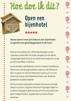 Zo maak je zelf een bijenhotel
