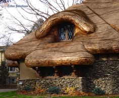 Cedar Thatched Roof