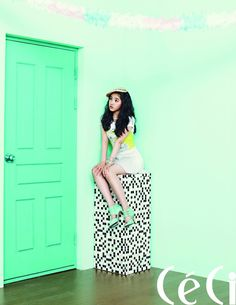 After School's UEE featured on the cover of July's Ceci magazine