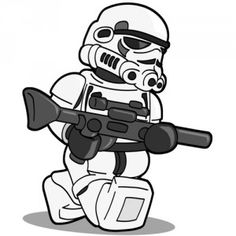 LEGO Star Wars Minifig Sketches | Pixelated Geek