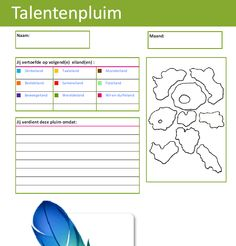 Talentenpluim kleuter! Bron: CEGO Leuven - basisschool Dol-fijn Rillaar Feeling Great, Feel Good, Classroom Organisation, 21st Century Skills, Teacher Tools, Play Therapy, Special Needs, Behavior, Coaching