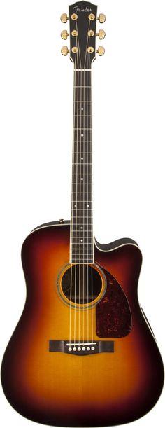 FENDER TPD-2CE Dreadnought Acoustic Guitar