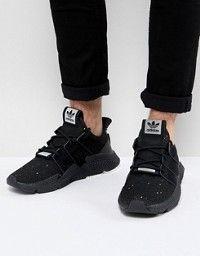 online store 9a0e9 272ec adidas Originals EQT Bask ADV Sneakers In Black AQ1013 ...