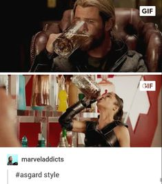 All in one gulp #Thor #Valkyrie #Agardianway