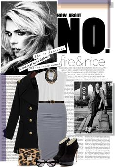 """""""How about NO?"""" by starshine-glow ❤ liked on Polyvore"""