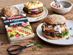 Grillkäse Burger Hummus, Burger Co, Beste Burger, Hamburger, Bbq, Brunch, Meat, Ethnic Recipes, Food