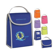Promotional Non-woven Folding Identification Lunch Bag | Customized Lunch Bags | Promotional Lunch Bags