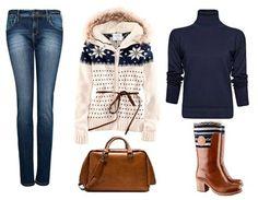 Look básico de @MANGO, @zara y #H para protegernos del frío con estilo este fin de semana