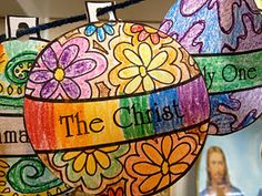 The Holy Name of Jesus- craft