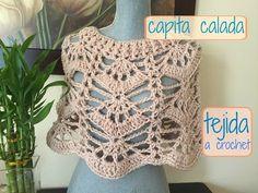 Chalina/Cuello tejida a Crochet/Ganchillo - YouTube