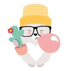 "Gefällt 6 Mal, 3 Kommentare - CONFETTI FRIENDS (@confetti.friends) auf Instagram: ""#confettigraphic #childrenillustration #confetti #graphic #tshirt #balloons #gum #relaxed #bear…"""