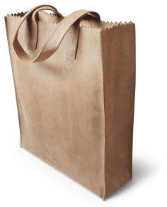 De MY PAPER BAG Deluxe Blond is ontworpen door Ramon Middelkoop voor MYOMY do goods.