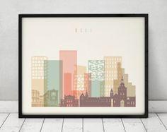 Rotterdam la impresión cartel arte de la pared por ArtPrintsVicky