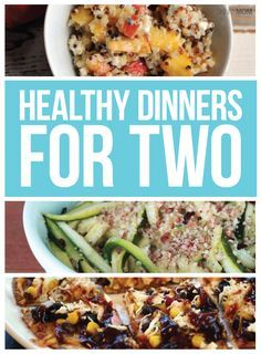 Healthy dinner recipes made for two! Healthy dinner recipes made for two! Healthy Dinners For Two, Healthy Dinner Recipes, Easy Meals, Easy Recipes, Clean Dinner Recipes For Two, Healty Dinner, Budget Recipes, Dinner Options, Budget Meals