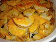 Sausage, Kale and Potato Gratin