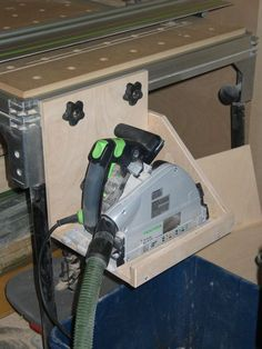 MFT/3 - custom track saw shelf - enhancement.