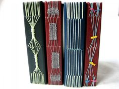 Long Stitch Weaving Examples - Bookbinding