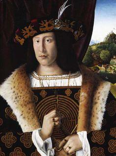 Bartolomeo di Giovanni, Portrait of a man 1480-1501 #labyrinth #art #portrait