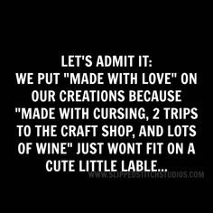 Sarcastic Quotes, Funny Quotes, Crochet Humor, Knitting Humor, Knitting Ideas, Knit Crochet, Craft Quotes, Clever Quotes, I Love To Laugh