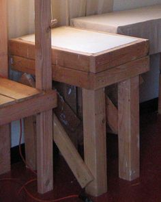 Terrific design and instructions to build your own wedging table. wedge table photo.jpg
