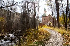 Beaver Creek Chapel- where Rob and I were married and Bella was baptized