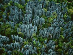 The stone forest (Tsingy de Bemaraha), Madagascar - Imgur
