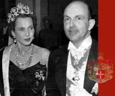 King Umberto II of Italy and Queen Marie Jose (nee Princess of Belgium)