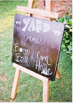 Love me some yard games