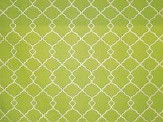 Waverly Chippendale Fret Work Grass Green