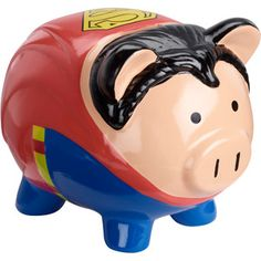Superman Piggy Bank                                                                                                                                                                                 Más