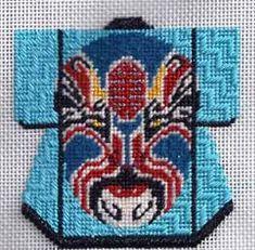 Lee Needle Arts mini needlepoint kimono