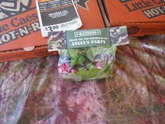 camo treat bag labels
