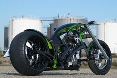 "#Thunderbike Dragster Motorcycle ""Kreuzfeuer"""