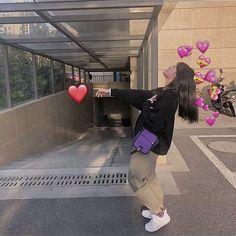 Ulzzang Korean Girl, Cute Korean Girl, Ulzzang Couple, Cute Girl Photo, Girl Photo Poses, Cute Photos, Girl Photos, Cute Panda Wallpaper, Korean Best Friends