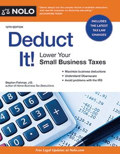 Deduct It--list of deductions for writers: http://www.nolo.com/legal-encyclopedia/tax-deductions-writers.html