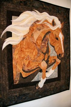 Horse #2 - My first quilt for ME!! I WILL MAKE THIS!!