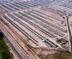 Aircraft boneyard, Arizona. Next time I go to Tucson, I will have to make a trip to see this.