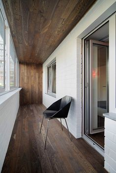 Автор проекта: Градиз Балкон может стать органичным продолжением общего интерьера.