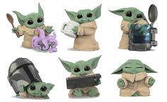 Für die sogenannte Bounty Collection, einer Reihe, die sich bisher ausschließlich mit dem Kind aka Grogu beschäftigt, ist anlässlich des heutigen Mando Mondays eine dritte Wave mit insgesamt sechs neuen Figuren angekündigt. Series 3, Pikachu, Star Wars, Children, Baby, Fictional Characters, Collection, Too Busy, Figurines