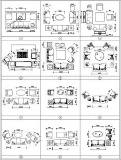 Sofa cad blocks set cad design free cad blocks drawings details cool popular ways to efficiently arrange furniture for small living room Living Room Arrangements, Living Room Furniture Arrangement, Living Room Furniture Layout, Living Room Designs, Deck Furniture Layout, Apartment Furniture Layout, Arrange Furniture, Family Room Furniture, Sectional Furniture
