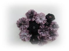 Tutorial  - Tygblomma / Fabric flower
